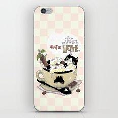 Cafe Latte iPhone & iPod Skin