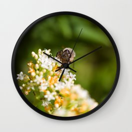 Holiday Worker Wall Clock