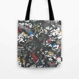 Triangles play Tote Bag