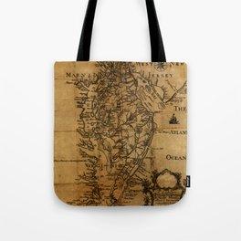 Map of Chesapeake Bay 1774 Tote Bag