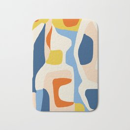 Me & Mine #abstract #painting Bath Mat