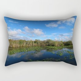 Blue Hour In The Everglades Rectangular Pillow