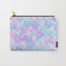 Soft Painterly Fluffy Pastel Abstract Carry-All Pouch
