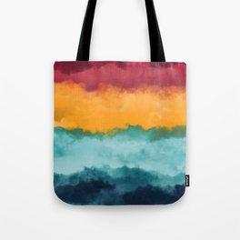 Storm at Coast Tote Bag