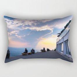 Best Seat in the Sky Rectangular Pillow