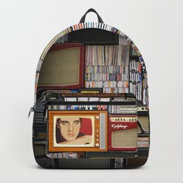 Vinyl records Backpack