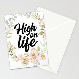 High on Life Stationery Cards