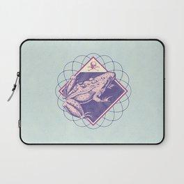 Pastel Poison Frog Laptop Sleeve