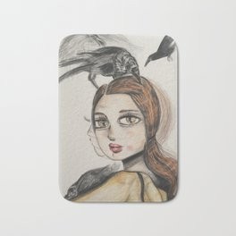 Raven series. Bath Mat