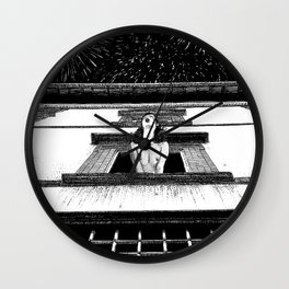 asc 445 - La célébration privée (The private New Year's party) Wall Clock