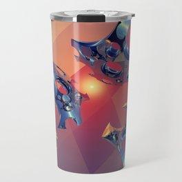 Reflections of Light Flight Travel Mug
