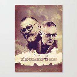 Sergio Leone/John Ford Canvas Print