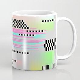 Glitch art effect Coffee Mug