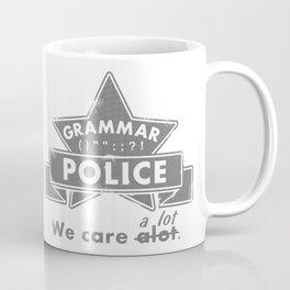 Grammar Police Coffee Mug
