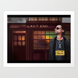 Concept art Out of Order Art Print