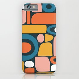 rainbow shape collage iPhone Case