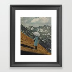 The Umbrella Framed Art Print