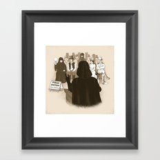 What is Thy Bidding? Framed Art Print