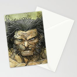 Logan by Roger Cruz Stationery Cards
