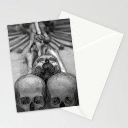 Kostnice Beinhaus Interior II Stationery Cards