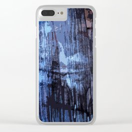 Behind the curtain Clear iPhone Case
