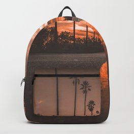 Road at Sunset Backpack