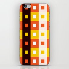 Stripes & Squares iPhone & iPod Skin