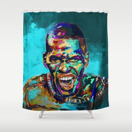 Aggression Shower Curtain