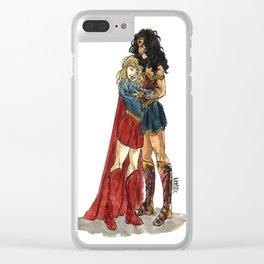 Super Hug Clear iPhone Case