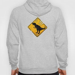 T-Rex Crossing Sign Hoody