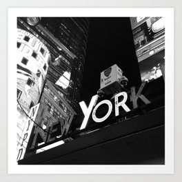 New York Police Department Art Print