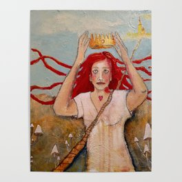 Crowning Herself Poster
