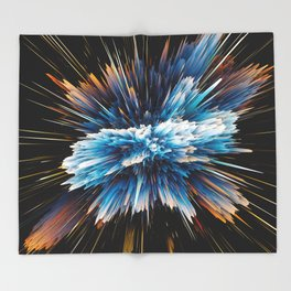 explosion Throw Blanket