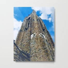 Old Stone Tower Metal Print