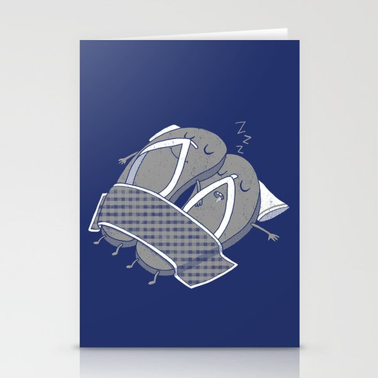 'sleep'pers Stationery Cards