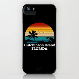Hutchinson Island FLORIDA iPhone Case
