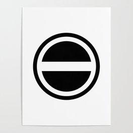 Curtis Holt Logo (Black) Poster