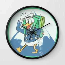 The hike Wall Clock