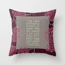Sinners & Saints Throw Pillow