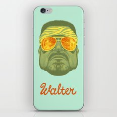 The Lebowski Series: Walter iPhone Skin
