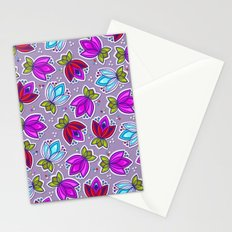 Pop Off Floral Stationery Cards