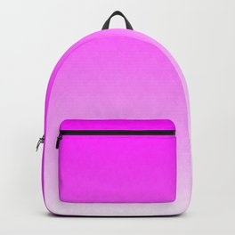 Pink Ombre flames Backpack
