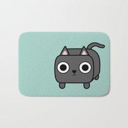 Cat Loaf - Grey Kitty Bath Mat