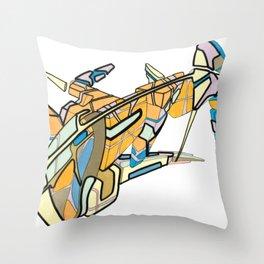 Hiva-02 Throw Pillow