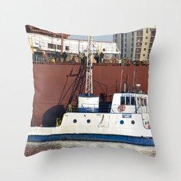 Soo Marine Supply Ojibway Throw Pillow