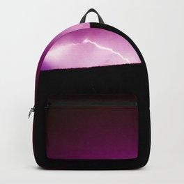 Lightning strikes Backpack