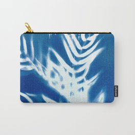 Nature Cyanotype III Carry-All Pouch