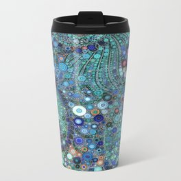 :: Ocean Fabric :: Metal Travel Mug