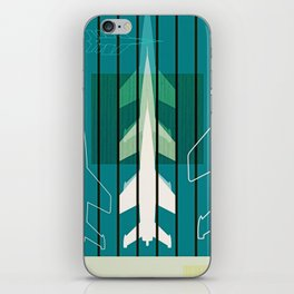 Missiles at dawn... in green! iPhone Skin