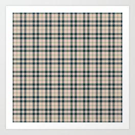 Tartan Pattern No1 Art Print